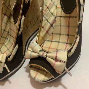 Coach Shoes - COACH Twirling Wedge Sandals Women's 9B
